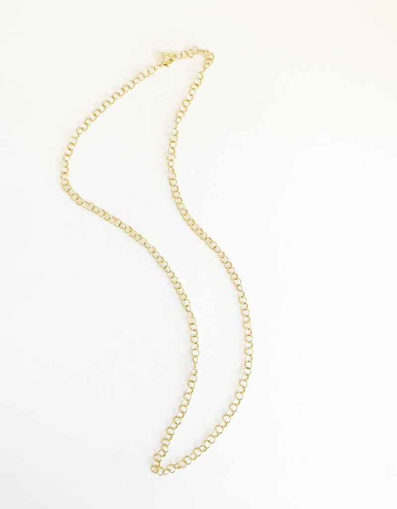 """TEMPLE ST CLAIR 24"""" Small Round Link Chain"""