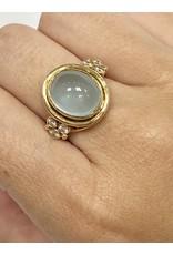 TEMPLE ST CLAIR Classic Aquamarine Diamond Ring