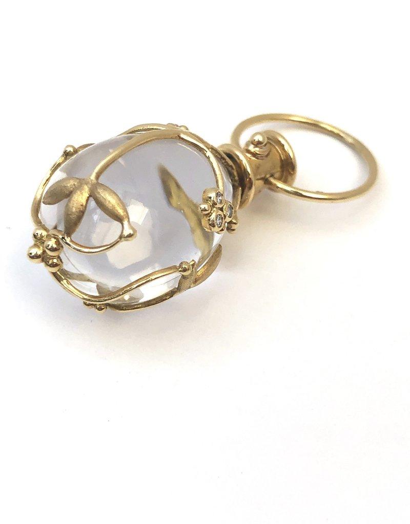 TEMPLE ST CLAIR Crystal Vine Amulet