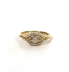 TEMPLE ST CLAIR Diamond Evil Eye Ring