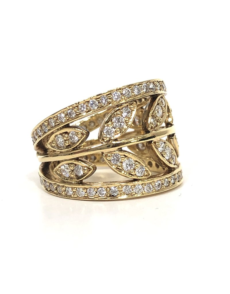 TEMPLE ST CLAIR Pave Vine Ring