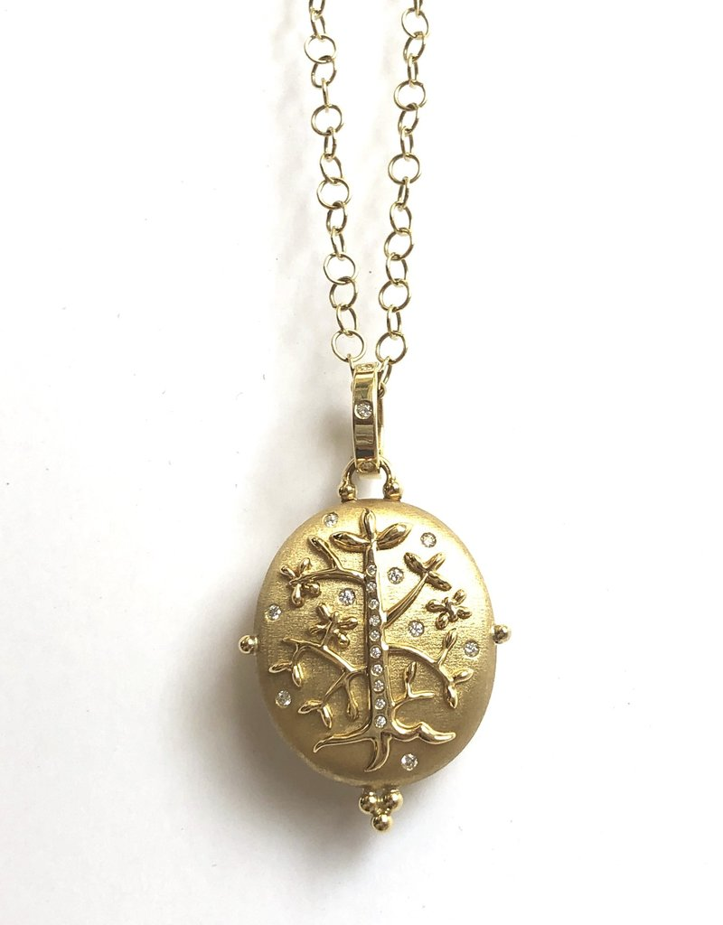 TEMPLE ST CLAIR Tree Of Life Locket