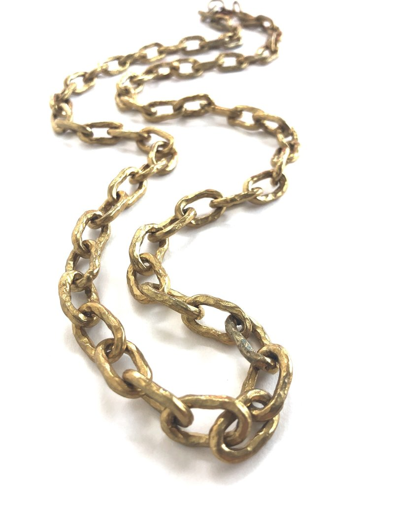 ASHLEY PITTMAN Bronze Link Chain
