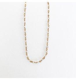 SENNOD Herkimer Diamond Necklace