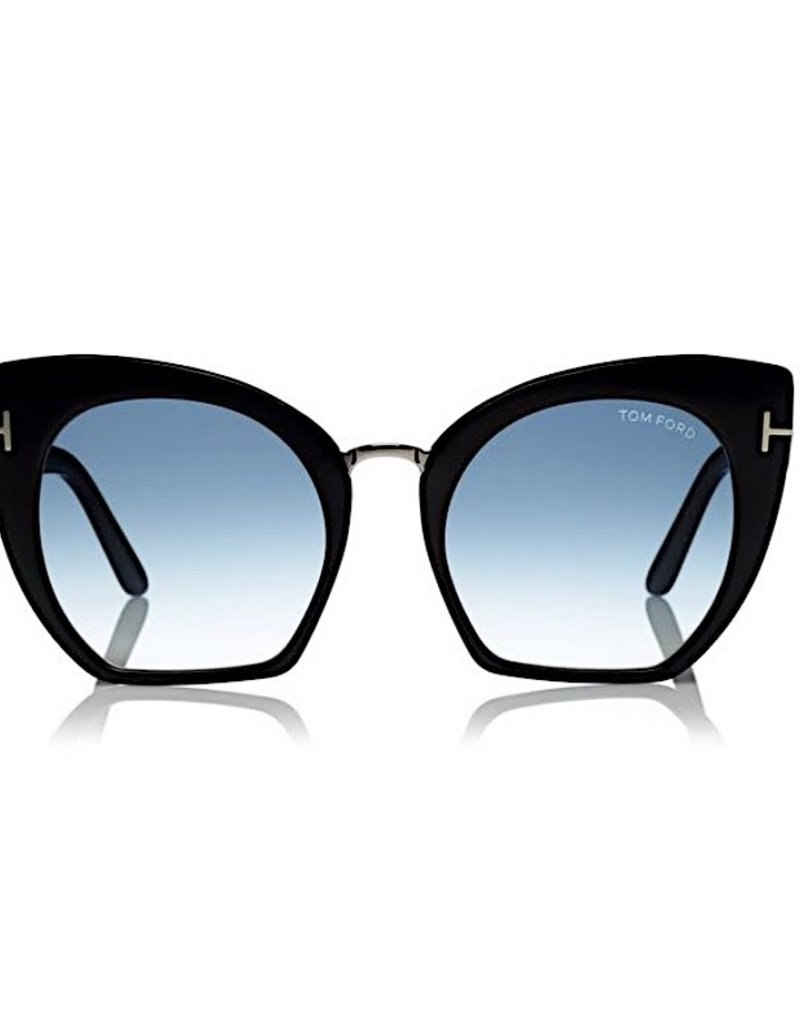 TOM FORD Samantha - Black with Blue Lens