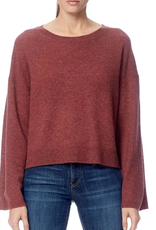 360 SWEATER Juliette Rosewood Sweater