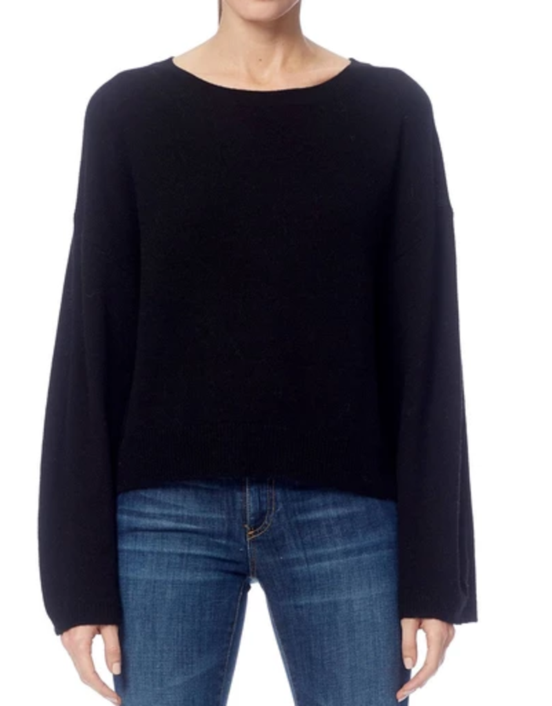 360 SWEATER Juliette Black Sweater