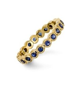 TEMPLE ST CLAIR Sapphire Eternity Band Ring