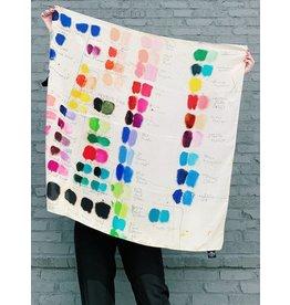 JOHN DERIAN Tones Silk Scarf