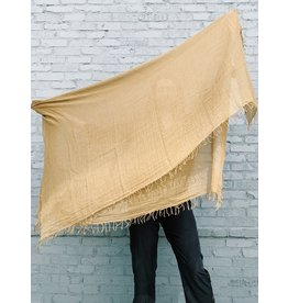CHAN LUU Grass Roots Solid Cashmere & Silk Scarf