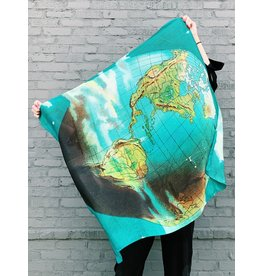 JOHN DERIAN World Silk Scarf