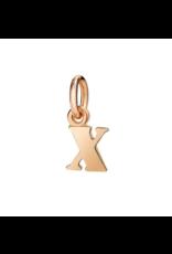 DODO Letter X Charm