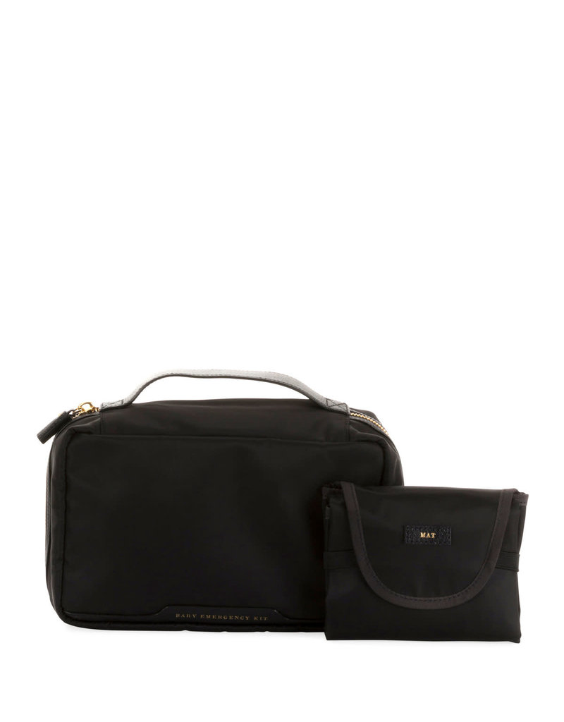 ANYA HINDMARCH Baby Emergency Kit Black Nylon