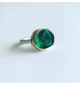 JAMIE JOSEPH Sliced Emerald Ring
