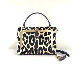ANYA HINDMARCH Postbox Bag Leopard Calf