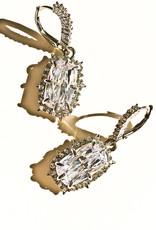ALEXIS BITTAR Crystal Encrusted Quartz Drop Earrings