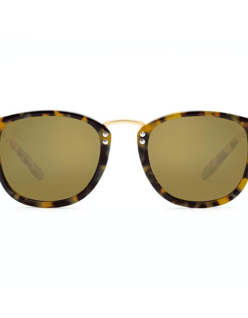 KREWE Franklin - Blonde Tortoise Polarized 24K