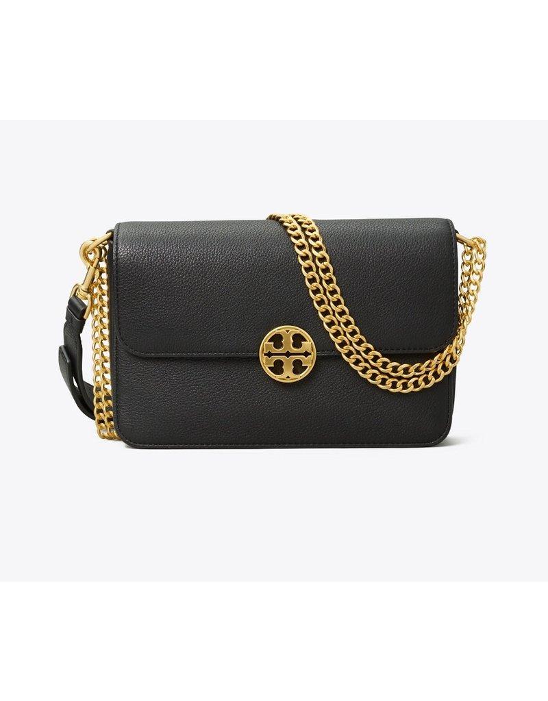 TORY BURCH Chelsea Chain Shoulder Bag - Black
