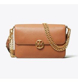 TORY BURCH Chelsea Chain Shoulder Bag - Classic Tan