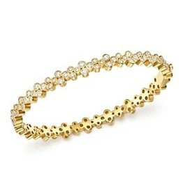 TEMPLE ST CLAIR Trio Diamond Cuff Bracelet