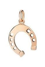 DODO Rose Gold Horseshoe Charm