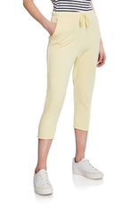 TEE LAB Cropped Sweatpant  - Canary Yellow