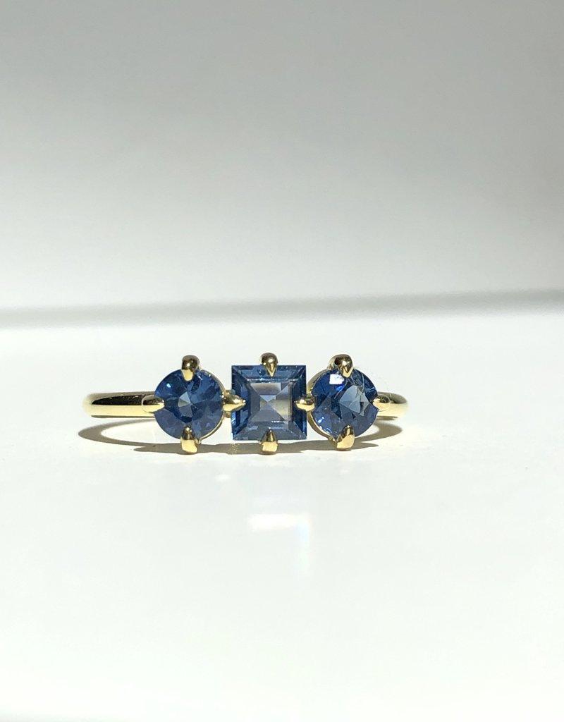 ILA Trilogy Blue Sapphire Ring