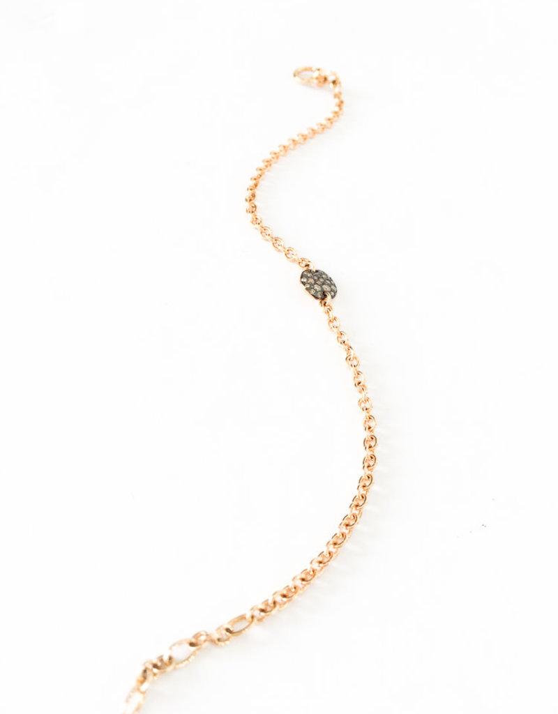 POMELLATO Brown Diamond Sabbia Link Bracelet