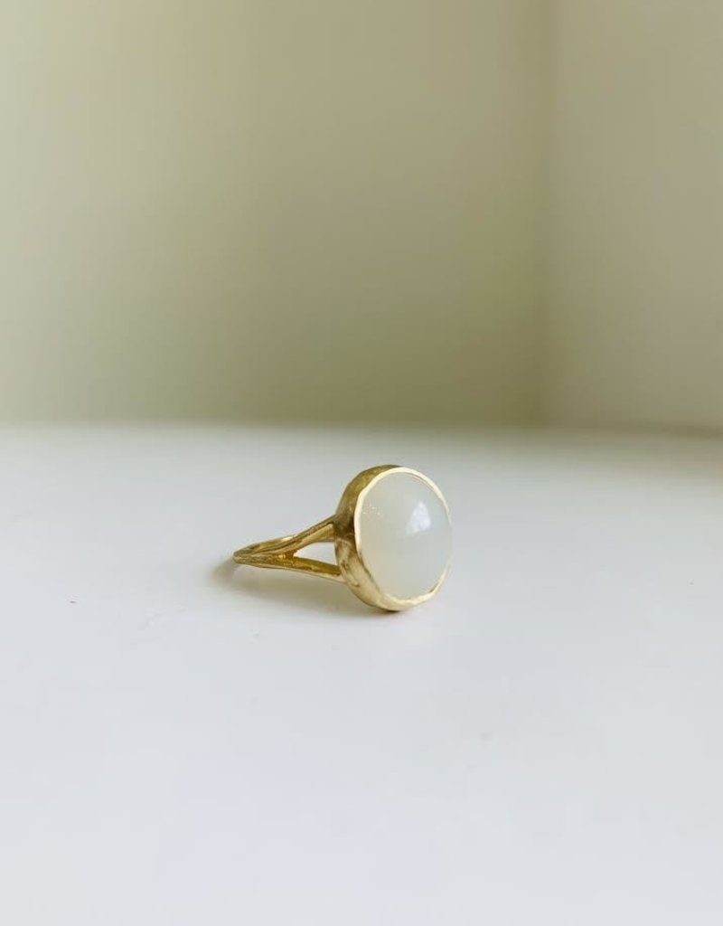 PAGE SARGISSON Moonstone Signet Ring