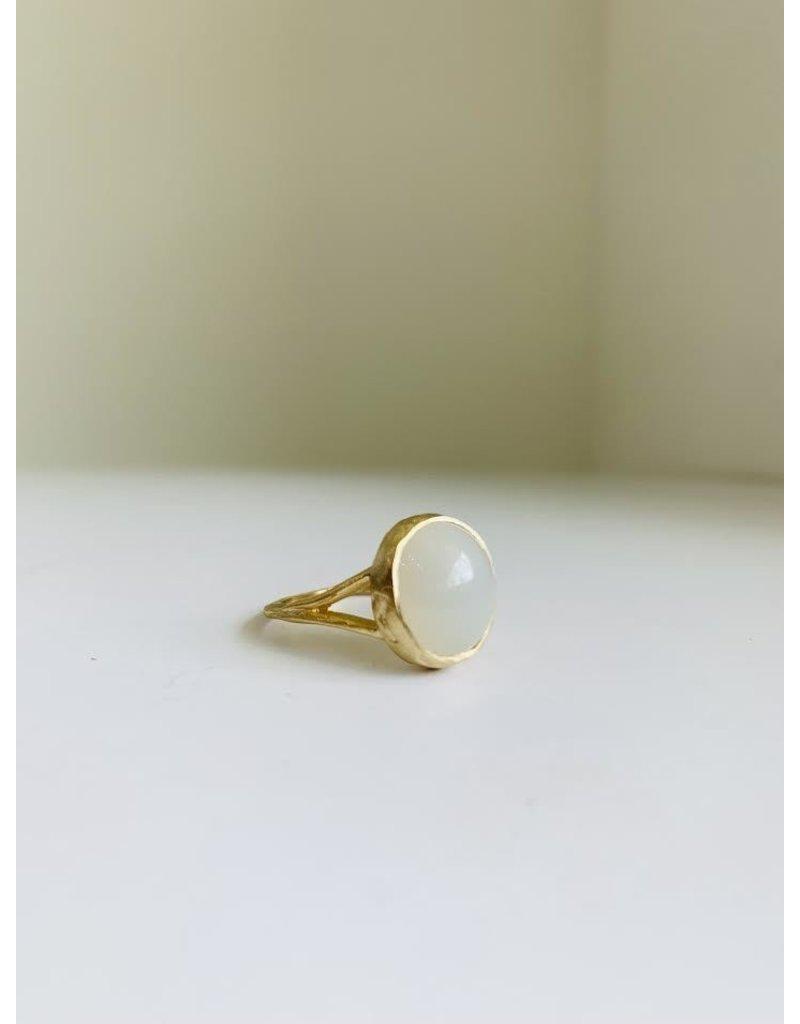 PAGE SARGISSON Moonstone Signet Ring