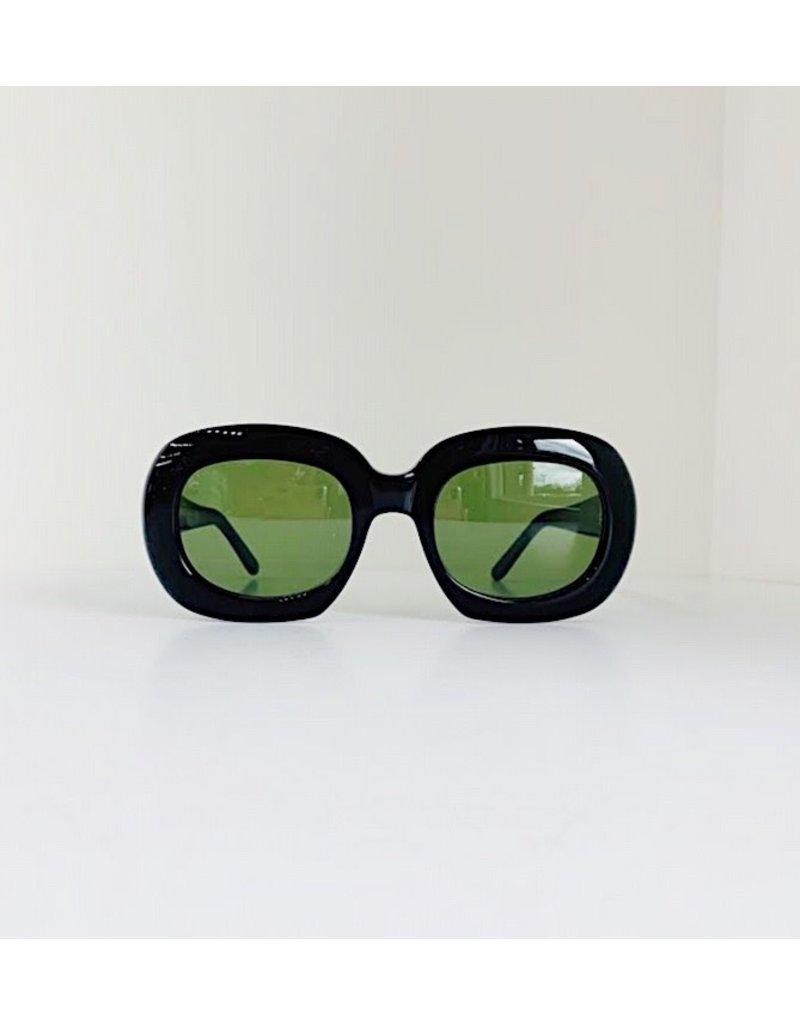 CELINE 40070I - Black with Green Lenses