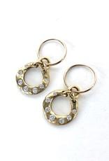 BREVARD 18K Crescent Earrings
