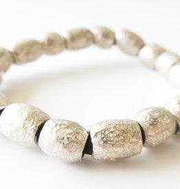 BREVARD Sterling Silver Old Money Stretch Bracelet