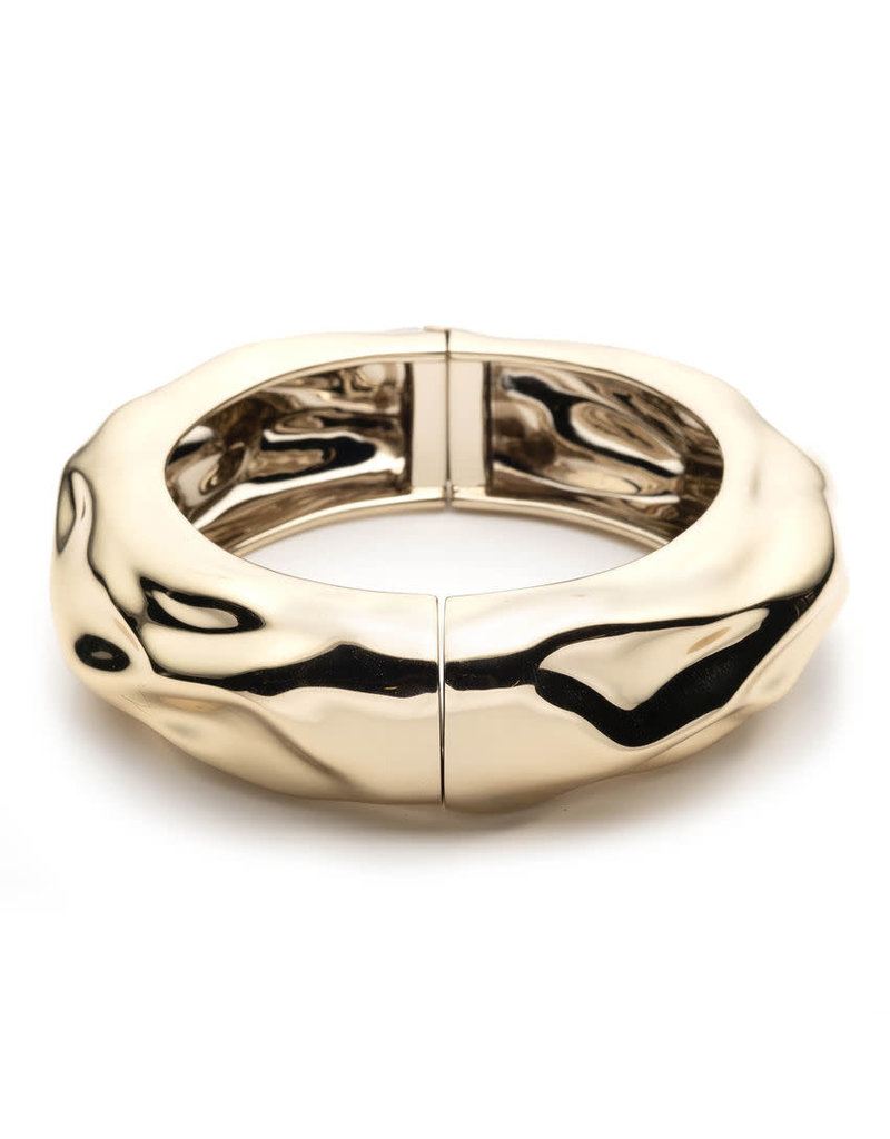 ALEXIS BITTAR Crumpled Hinge Bracelet