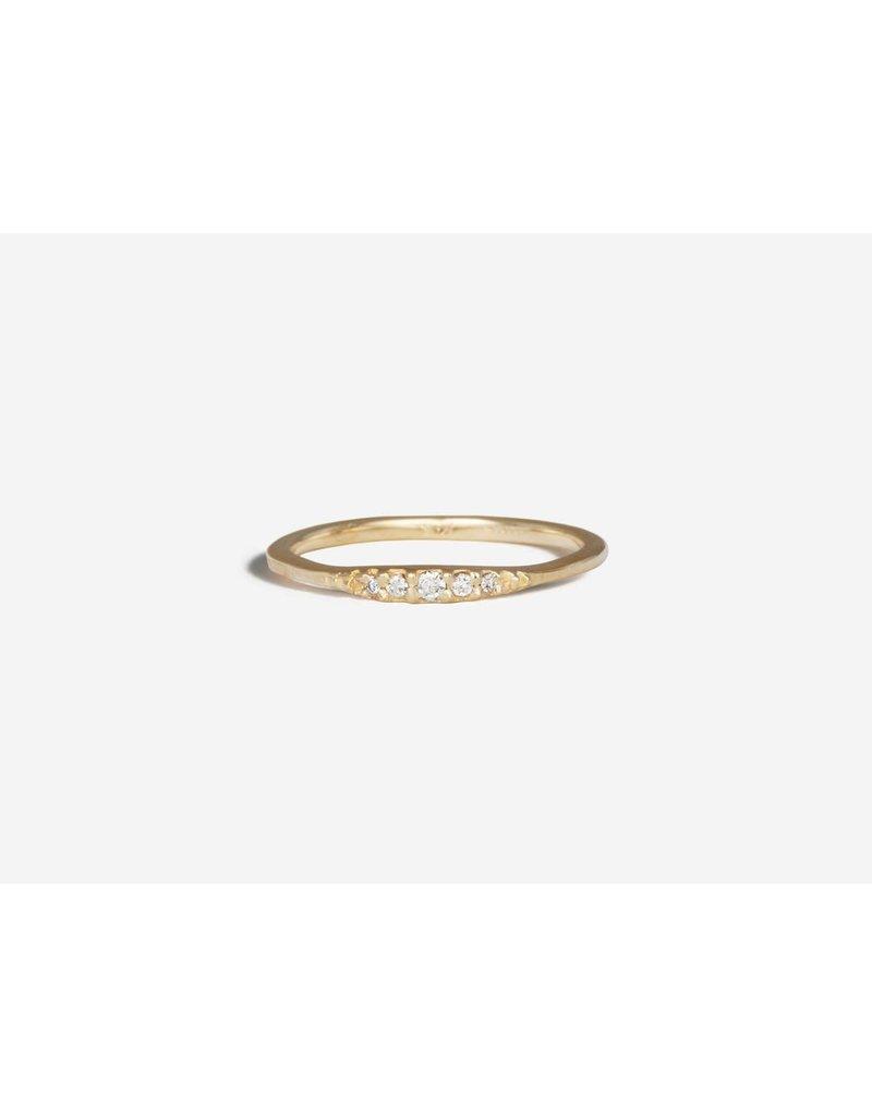 SHAESBY Flamenco Stack Ring - White Diamond