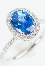 ERICA COURTNEY Blue Sapphire Emani Ring
