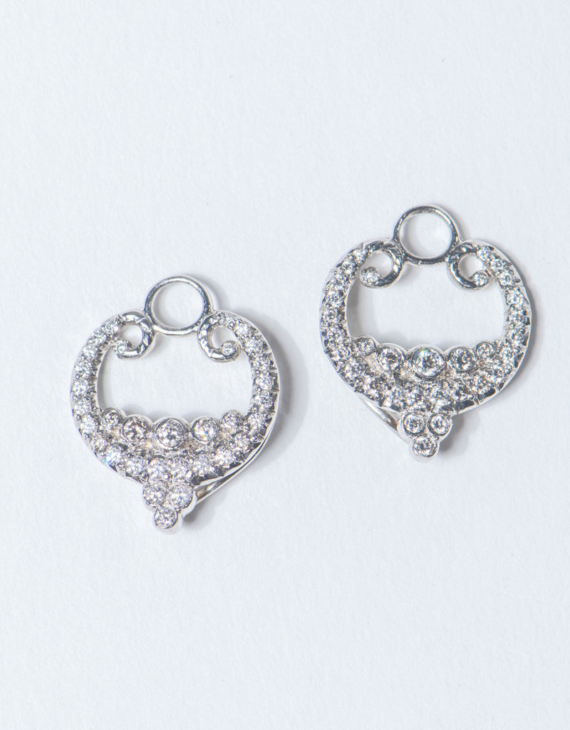 ERICA COURTNEY Platinum Laura Earrings