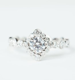 ERICA COURTNEY Sol Ring in Platinum
