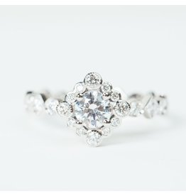 ERICA COURTNEY Sol Ring in Platinum