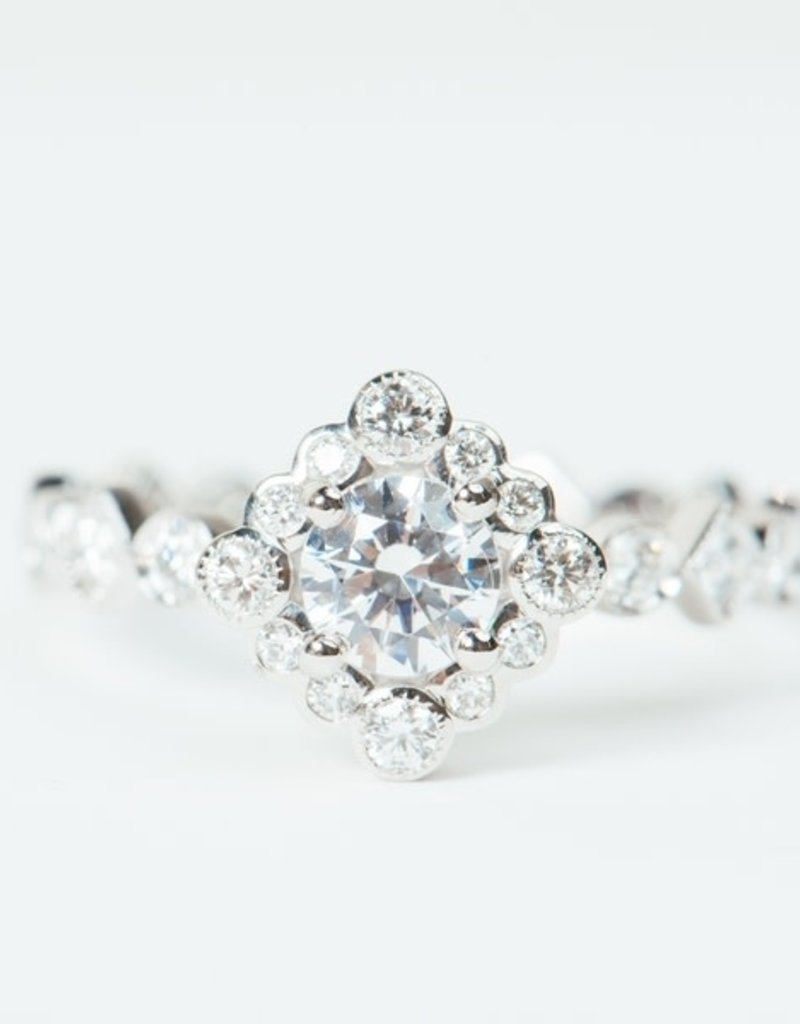 ERICA COURTNEY Platinum Sol Ring