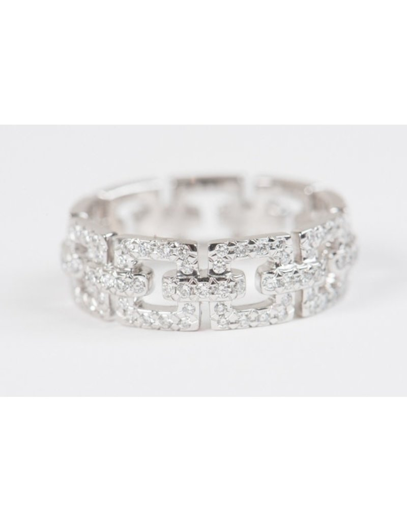 ERICA COURTNEY Emma Bracelet Band Platinum