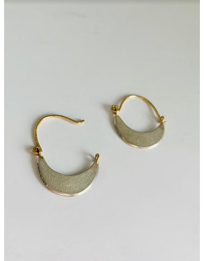 SHAESBY Mini Crescent Hoop