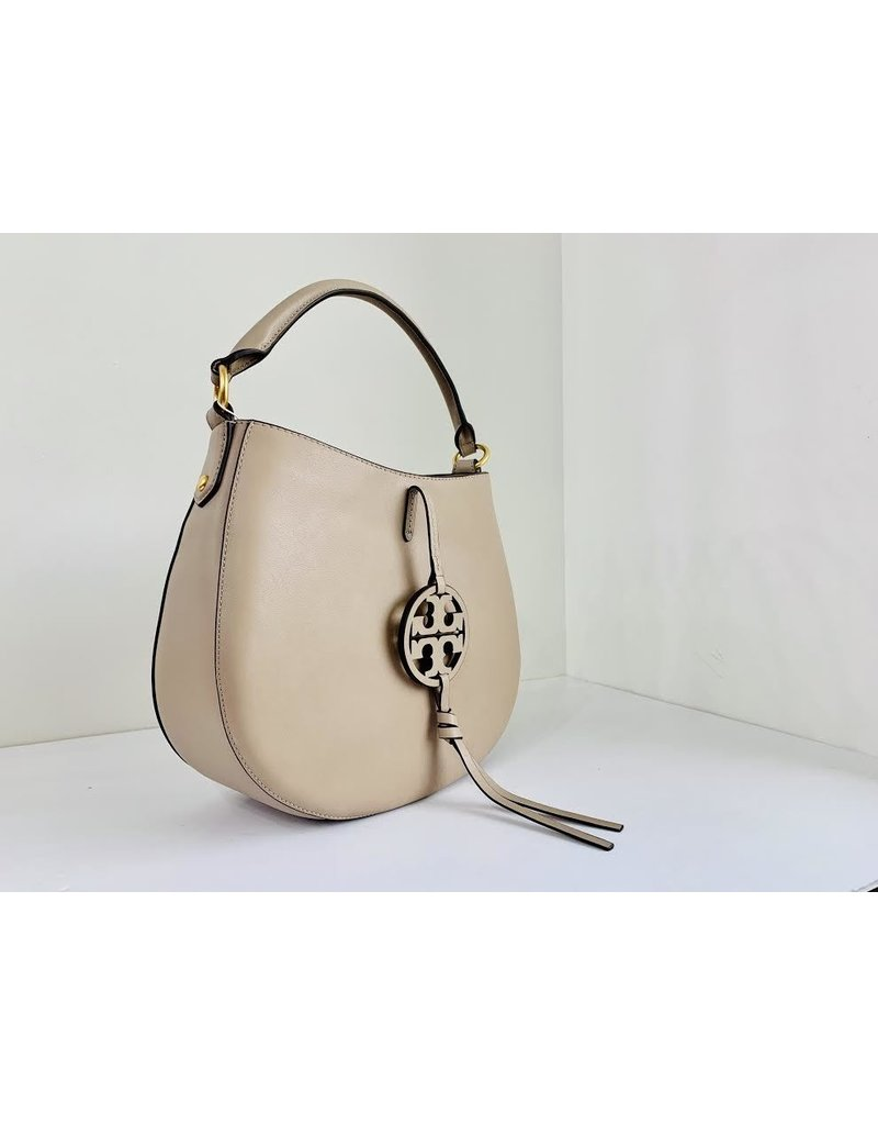 TORY BURCH Miller Metal MINI Hobo - Oryx