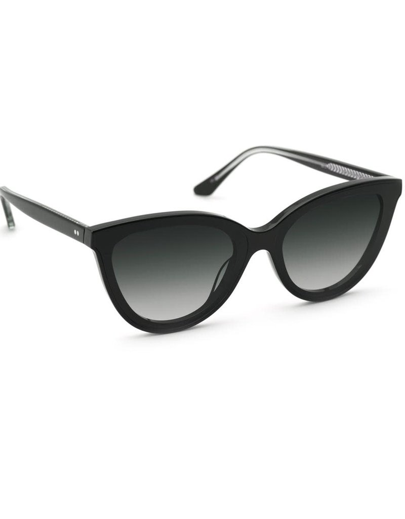 KREWE Monroe Nylon - Black + Black and Crystal