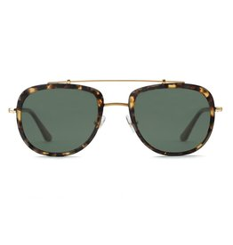 KREWE Breton - Matte Brindle to Black + 18K Polarized