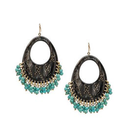 ASHLEY PITTMAN Vuka Earring Dark Horn