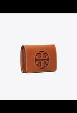 TORY BURCH Miller Medium Flap Wallet - Aged Camello