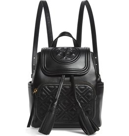 TORY BURCH Fleming Mini Backpack - Black