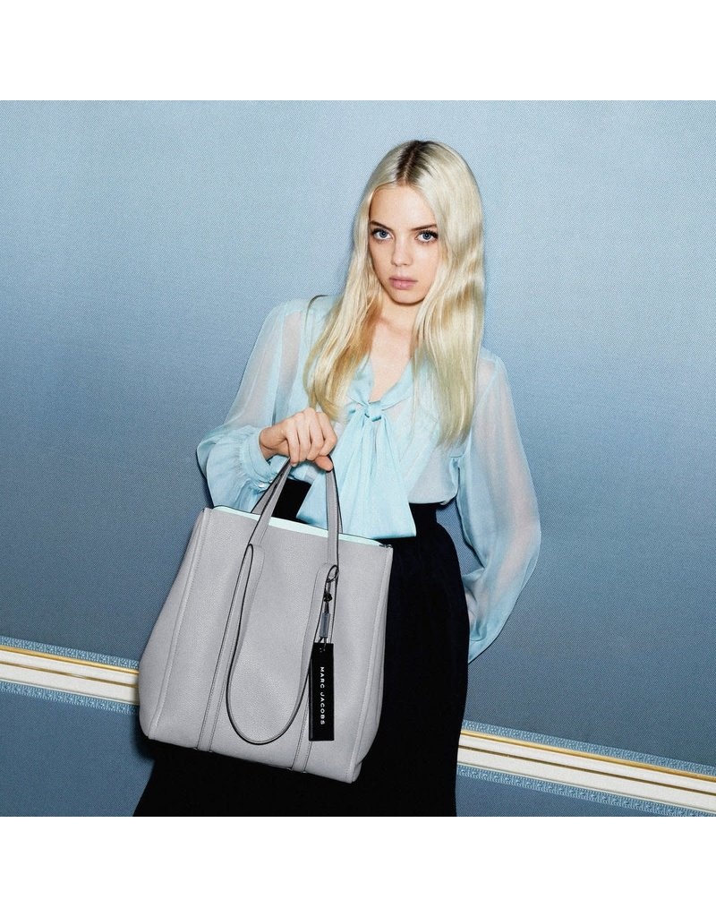 "MARC JACOBS The Tag Tote 31"" - Rock Grey"