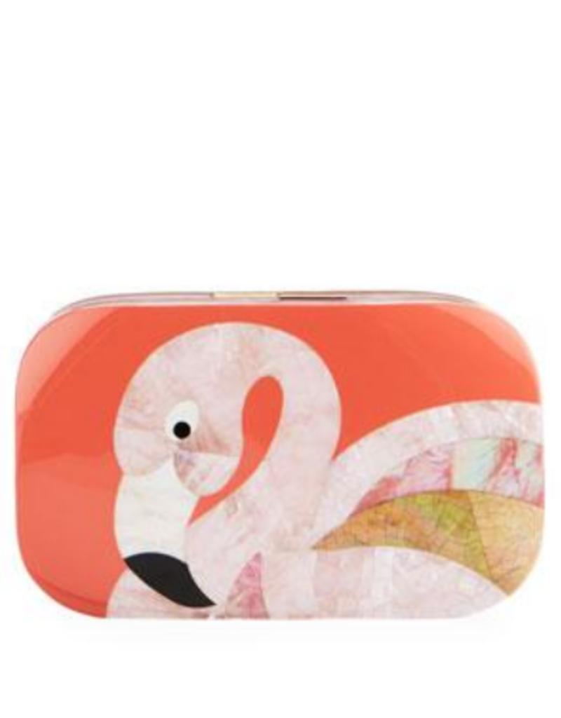 RAFE Kiki Minaudiere - Flamingo